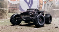 Arrma 1/8th Notorious 6S BLX 4wd Brushless Classic RTR Stunt Truck with Black Body
