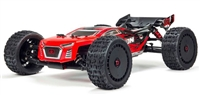 Arrma 1/8th Talion 6S BLX 4wd Brushless Sport Performance Truggy RTR with red/black body