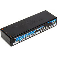 Reedy 5000mAh 65c Lipo Battery, 2s (7.4v), 4mm Bullets