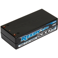 Reedy 5300mAh 70c Lipo 2s Shorty Battery (7.4v), 4mm Bullets