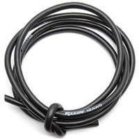 Associated Pro Silicone Wire, 12awg Black