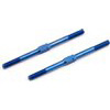 "Associated SC10RS RTR FT Turnbuckles- 2.00"", Blue Titanium (2)"