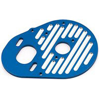 Associated SC10.2/T4.2/B4.2 Milled Motor Plate, Blue Aluminum
