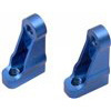 Associated SC10.2/T4.2/B4.2 Front Servo Mounts, Blue Aluminum (2)