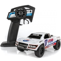 Associated SC28 Ready-to-Run Lucas Oil Edition Micro Short Course Truck
