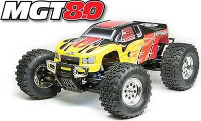 Associated MGT 8.0 RTR 1/8th Off-Road Monster Truck With .50 Engine