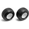 Associated RC18T/18T2/18B2 Mini Pin Tires With Inserts (2)
