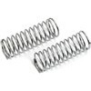 Associated Rival Mini/RC18T2 Rear Shock Springs-Silver, 1.64 Lb. (2)