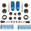 Associated Rival Mini FT Rear Threaded Shock Set, Blue Aluminum (2)