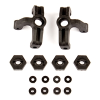 Associated Reflex 14B/14T Steering Blocks and Wheel Hexes Set