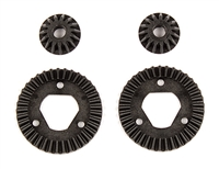 Associated Reflex 14B/14T Ring and Pinion Set, 37T/15T