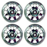 Associated TC4 8-Spoke Rims, Chrome (4)