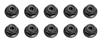 Associated RC8T/Mini-MGT 3mm Locknuts with Flange (20)