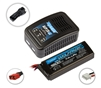 Reedy 123-S AC Charger and 1600mAh 2S Wolfpack LiPo Battery Combo