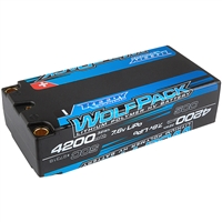 Reedy Wolfpack HV-LiPo 4200mAh 50C 7.6V Shorty Lipo Battery Pack
