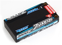 Reedy Zappers 3600mAh LP 7.6V 110C SG Shorty Lipo Battery with 5mm connectors