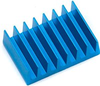 Associated Rival Mini FT Xps Speed Control Heatsink-Blue Aluminum