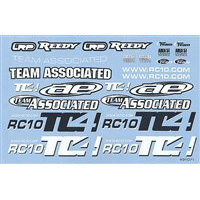 Associated TC4 Decal Sheet