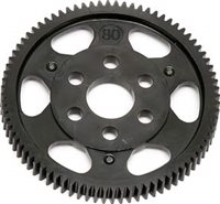 Associated TC6.1/TC6 Spur Gear-48 pitch, 80 tooth