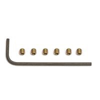 "Associated SC10.2/T4.2 Set Screws, 5-40 x 1/8"" With Wrench (6)"