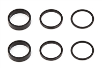 "Associated RC10F6/RC12R6 1/4"" Rear Axle Shim Set (6)"