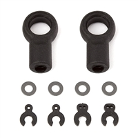 Associated RC12R6 Arm Eyelets and Caster Clips