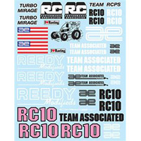 Associated RC10WC Decal Sheet for RC10 World's Car