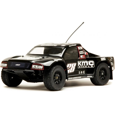 SC10 Short Course Race Truck RTR with KMC Wheels Body