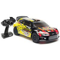 Associated ProRally 4wd Brushless Powered RTR with Black/Yellow Body