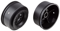Associated DR10 Rear Rims, black (2)