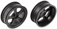 Associated DR10 Front Rims, black (2)