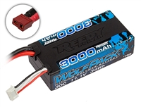 Reedy Wolfpack 3000mAh 11.1V 30C Shorty Lipo Battery with T-plug