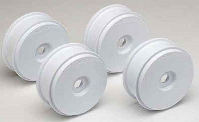 Associated RC8/RC8RS Rims, White (4)