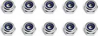 Associated RC8/RC8RS/RC8T Shock Piston Locknuts (10)