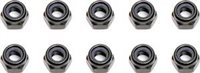 Associated RC8/RC8RS/RC8T 4mm Locknuts (10)