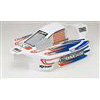 Associated RC8RS Painted Body, White
