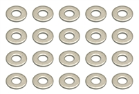 Associated 2.5mm Washers (20)
