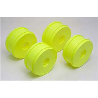 Associated RC8 Rims-83mm, Yellow (4)