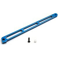 Associated RC8T Rear Chassis Brace, blue aluminum