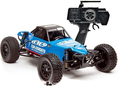 Associated SC10BRS Brushless RTR 2wd Electric Buggy With Blue Body