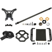Associated SC10 4x4 Saddle Pack Battery Mount FT Upgrade Kit