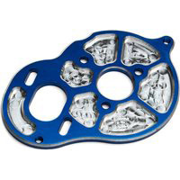 Associated RC10B5/B5M FT Milled Motor Plate, Blue