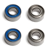 Associated Factory Team Bearings, 6 x 13 x 5mm (4)