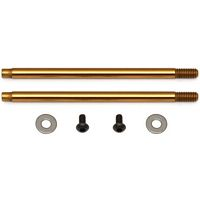 Associated T5 V2 Rear Shock Shafts-TiNi Coated, 3 x 35mm (2)