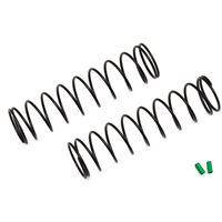 Associated 12mm Shock Springs, green 72mm, 2.20 lb/in (2)