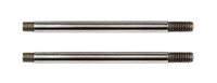 Associated RC10B74 FT 3x24mm Shock Shafts V2, chrome (2)