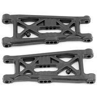 Associated RC10B6 Flat Front Arms, hard (2)