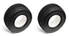 Associated SC10 Tires with Foam Inserts (2)