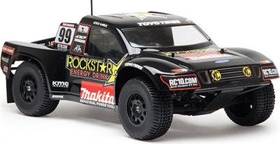 Associated SC10 4x4/SC10 Rockstar-Makita Short Course Painted Body