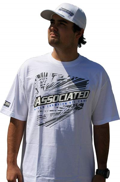 Associated Ae T-Shirt, White-Small